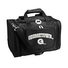 Denco Sports Luggage Expandable Travel Duffel Bag Geor own Hoyas