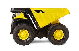 Tonka 90667 Steel Toughest Mighty Dump Truck: Tonka: Amazon.co.uk ...