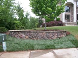 Retaining Wall Ideas Front Yard Sloped Front Yard Retaining Wall ... Joplin Landscaping By Ss Custom Retaing Wall Slope Down To Flat Backyard Genyard Ideas For Hillside Backyard Slope Solutions Install 51 Best Sloped Yard Designs Retaing Walls Images On Pinterest Ceramic For Wall Laluz Nyc Home Design Outstanding Front Images Walls Richmond Va Installation Seating Minnesota Paver Patios Southview Best Sloping Garden Only On And
