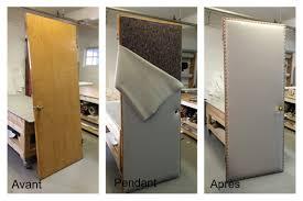 comment insonoriser une porte insonorisation d une porte de bureau cuir artisan sans limite