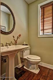 Williamsburg Pedestal Sink Home Depot by Traditional Powder Room With Powder Room U0026 Wood Blinds In