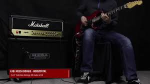 Mesa Boogie Cabinet 2x12 by Marshall Jvm 205h Mesa Horizontal 2x12 Youtube