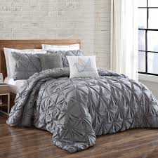 Kenneth Cole Bedding by Brooklyn Loom Jackson Pleat Mini Comforter Set Our Room