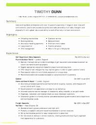 Resume Examples For Receptionist Jobs Job Cv New Cover