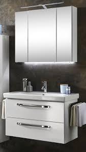 marlin bad 3060 badmöbel set 85 cm breit spiegelschrank mit led beleuchtung
