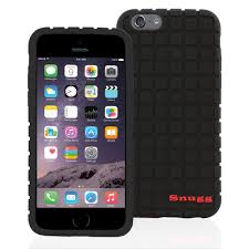 Snugg iPhone 6 Plus Silicone Non Slip Case in Black available at