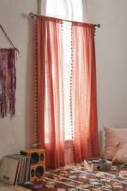 blackout pompom curtain witches urban outfitters and urban