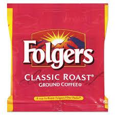 FolgersR Coffee Black Silk 14 Oz Packet 42 Carton