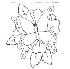 Colouring Worksheets For Playgroup Kindergarten Coloring Page Number Color By