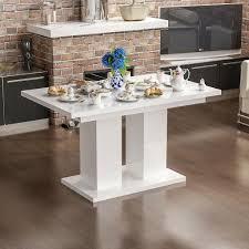 esstisch esszimmertisch küchentisch tisch ausziehbar hochglanz