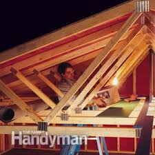 Hanging Drywall On Ceiling Trusses by Garage Storage How Much Weight Can Trusses Take Family Handyman