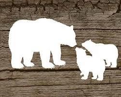 Bear Cub Clipart Daddy 3