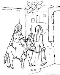 Bible Christmas Story Coloring Pages 25 Religious Free Printable Wallpaper