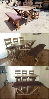 50 Wonderful DIY Pallet Furniture Ideas And Projects 2018 | Pallet ... 30 Plus Impressive Pallet Wood Fniture Designs And Ideas Fancy Natural Stylish Ding Table 50 Wonderful And Tutorials Decor Inspiring Room Looks Elegant With Marvellous Design Building Outdoor For Cover 8 Amazing Diy Projects To Repurpose Pallets Doing Work 22 Exotic Liveedge Tables You Must See Elonahecom A 10step Tutorial Hundreds Of Desk 1001 Repurposing Wooden Cheap Easy Made With Old Building Ideas