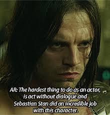 My Gifs Captain America Marvel Bucky Barnes Sebastian Stan Commentary Acting The Winter Soldier Sebstan