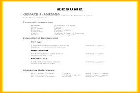 Resume Character Reference With For A References In Examples Write