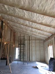 100 Hill Country Insulation Closed Cell Spray Foam Insulation In Our Pole Barn Home