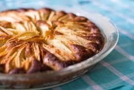 gateau a pate levee recette gâteau aux pommes à la pâte levée