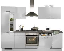 cuisines hornbach bloc cuisine primalight blanc brillant 270 cm acheter sur hornbach