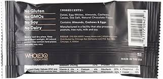 RXBAR Whole Food Protein Bar Chocolate Sea Salt