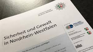Kã Che 20000 Sicherheit Und Gewalt In Nordrhein Westfalen Forschungsbericht