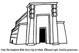 Pin Temple Clipart Solomons 4