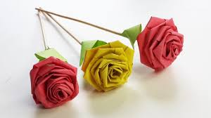 How To Make Rose With Paper Strip Quilling