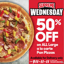 Pizza Hut's Supreme Wednesday - Delivery Deal On June 19 ... 50 Off On Pizza At Hut Monday Friday Hut Coupon Online Codes 2019 5 Power Lunch Coupon From Dollarsaver Promo Code Td Car Rental Discount Free Code Giveaway 2 Medium Pizzas Nova Pladelphia Eagles 2018 Why Should I Think Of Ordering Food Online By Dip Free Wings Pizza Recent Whosale Coupons For January Jump N Play Avon Pin Kenwitch 04 Life Hacks Set Rm1290 Nett Only
