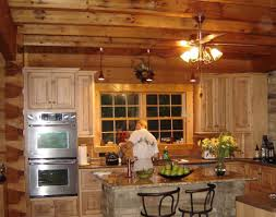 Rustic Kitchen Island Stools Brown Striped Accent Walls Color Schemes Cape Cod Style Furniture Dark Cabinets