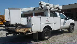 2002 Ford F550 Bucket Truck   Item L2872   SOLD! August 16 M...