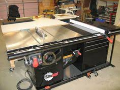 Cabinet Table Saw Mobile Base by Table Saw Blade Locker Storage Unit Woodworking Plan Shop Project