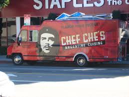 Cubans Mad At Che's Food Truck,Why? | Dial D For Dad Where Do Food Trucks Go At Night Street For Haiti Roaming Hunger Paradise Truck Los Angeles Catering Jim Dow Tacos Jessica Taco East California 2009 The Best Food Trucks In City Cooks Up Plan To Help Restaurants Park Labrea News Beverly Miami 82012 Update Roadfoodcom Discussion Board Book A Rickys Fish Fashionista 365 Los Angeles 241 Lots Of Cart Best Resource Condiments From Taco Truck Stock Photo 49394118