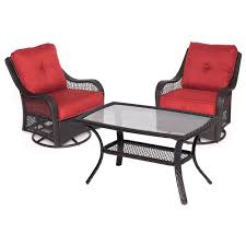 Patio Furniture Conversation Sets Home Depot by Hampton Bay Lynnfield 5 Piece Patio Conversation Set With Gray