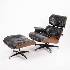1956 Holy Grail Herman Miller Eames Lounge Chair W Swivel Ottoman ... Vitra Eames Lounge Chair Ottoman Walnut White Herman Miller By Hille 1st European Edition Special Black Design Seats Buy Cheap Aeron And Barcelona Chairs Inside The Black Market Charles Ray Sale Number 3045b Sessel Auellungsstck Santos Palisander Couch Potato Company 1956 Designer And Outdoor Fniture Exquisite With Lovely Authentic For