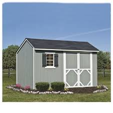 8x8 Rubbermaid Shed Home Depot by Shop Heartland Stratford Saltbox Engineered Wood Storage Shed