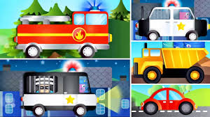 Fire Truck - Police Car For Children- Police Vehicles Cars Kids ... Racing Games For Toddlers Android Apps On Google Play Fire Truck Cartoon Games For Children Monster Stunt Videos Kids Police Tow Car Wash Toddlers Youtube Tow Truck Car Wash Game Pinterest Vehicles Match Carfire Truckmonster Cars Ice Cream Truckpolice