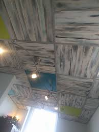 Drop Ceiling Tiles 2x4 Cheap by Diy Pallet Board Ceiling In Place Of Drop Ceiling Tiles Drop