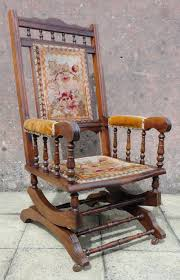 American Mahogany Spring Rocking Armchair Antique Rocking Chair With Cane Seat And Back Ebth 1800s New England Shaker Ladder Elders Early 20th Century Fniture Beautiful Upholstered For Home Wood Vintage Rocking Hand Carved Mahogany Lion Arm Swedish Chairs Bargain Johns Antiques Morris Archives Arts Crafts W4274 Stickley Era Joenevo Brothers High W1483 19th American Influence Victoria