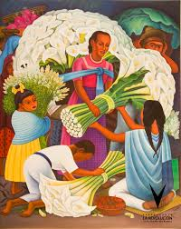 diego rivera was a famous mexican muralist a revolutionery in the