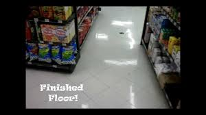 Burnishing Floors After Waxing by Floor Burnishing Youtube