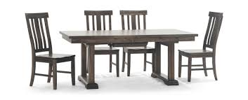 Dawson Trestle Table With 4 Dining Chairs