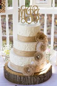Rustic Burlap And Lace Wedding