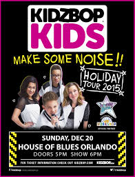 Kidz Bop Halloween 2017 by Kidzbop Kids At House Of Blues My Central Florida Family