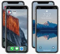 How to hide iPhone X s notch on the Lock and Home screen with