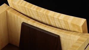Tiger Maple Walnut Wooden Keepsake Box