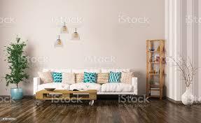 interieur des wohnzimmer mit sofa 3d render stockfoto und mehr bilder architektur