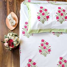 Bed Sheet Embroidery Hand Designs Hand Embroidery Bed