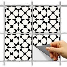 fliesenaufkleber für küche badezimmer boden holz glas metall linoleum wasserfest abnehmbar umweltfreundlich vinyl 10 2 x 10 2 cm 12 stück