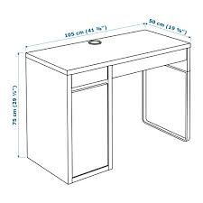 Corner Computer Desk Ikea Uk by Desk Ikea Micke White Modern Computer Desk Find This Pin And