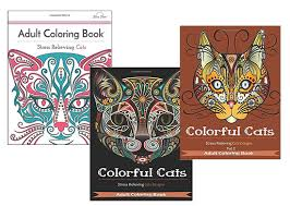 Reduce Stress With Cat Coloring Books For Adults O Hauspanther
